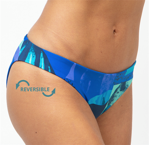 Fourth Element Tiger Reversible Bikini Bottom - vendbar
